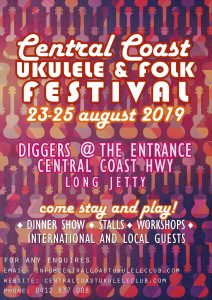 Central Coast Ukulele Folk festival @ Diggers @ The Entrance | Long Jetty | New South Wales | Australia