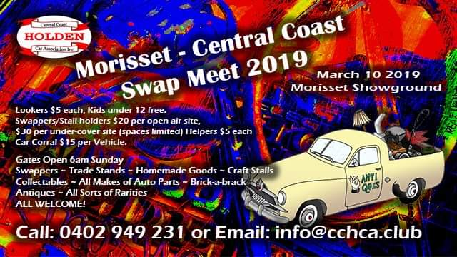 Morisset – Central Coast Swap Meet 2020