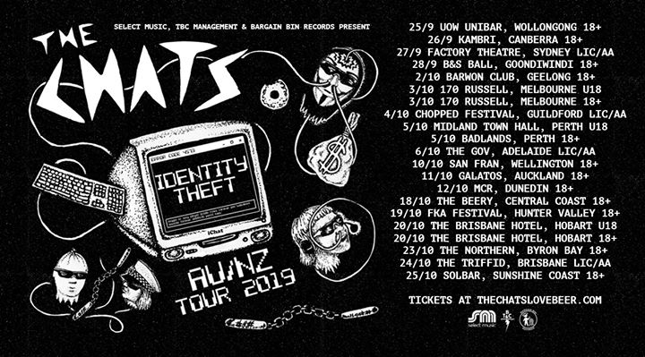 The Chats – Identity Theft Tour – Central Coast
