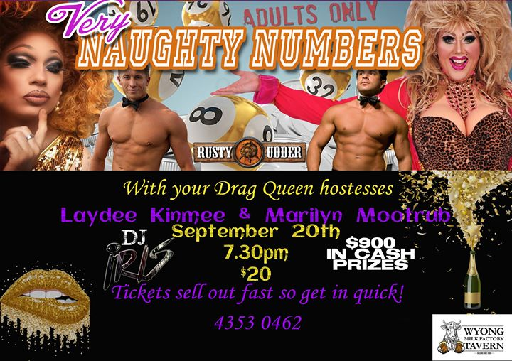 Naughty Numbers- Adults Only Bingo
