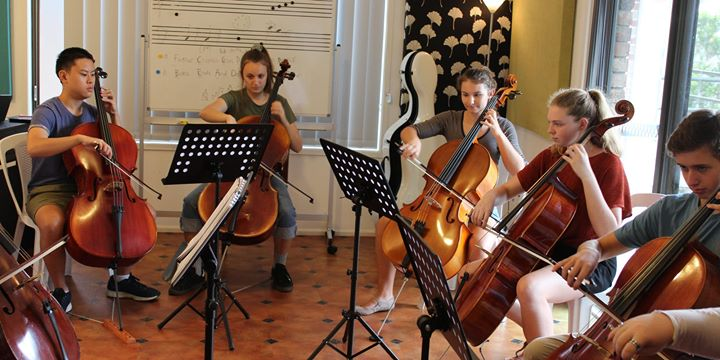 Central Coast Strings: Advanced Cello Group October Session