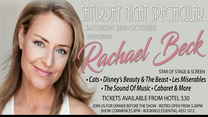 Saturday Night Spectacular feat. Rachael Beck