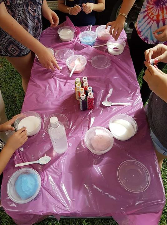 Kids Slime And Pure Fume Class
