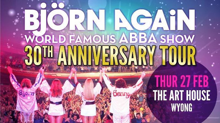 Bjorn Again 30th Anniversary Tour, Wyong NSW