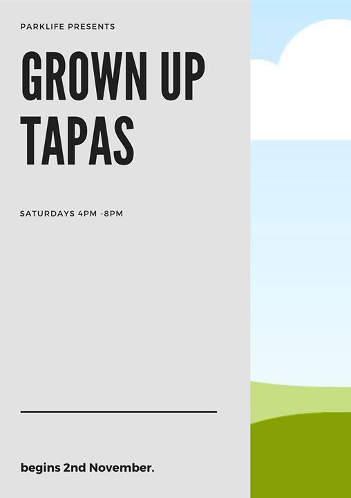 Grown up tapas