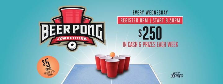 Beer Pong Competition!