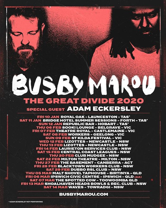 Busby Marou / Central Coast Leagues, Gosford NSW (18+)
