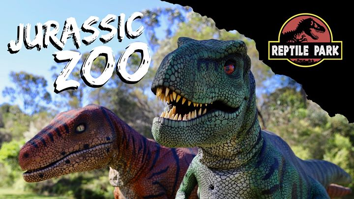 Jurassic Zoo School Holidays!