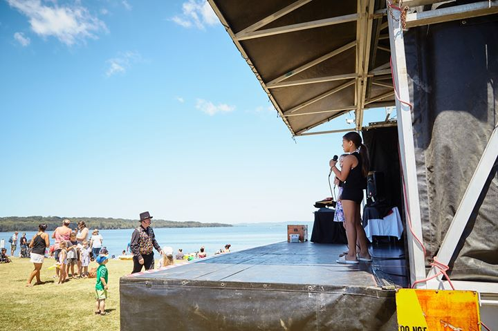 Australia Day Eve at Canton Beach Foreshore