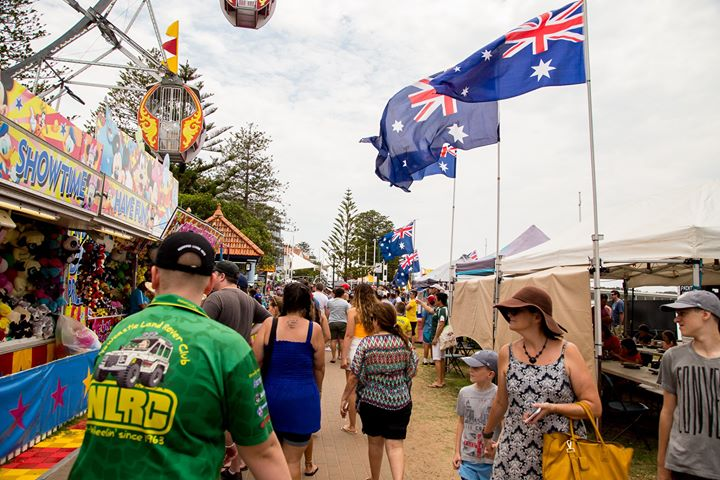 Australia Day at The Entrance