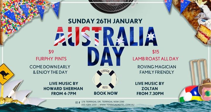 Australia Day at The Terrigal Hotel