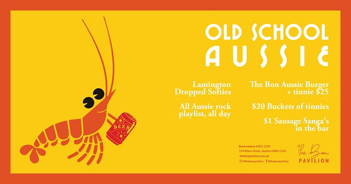 Old School Aussie at The Bon
