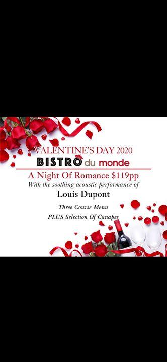 Valentine at Bistro du monde