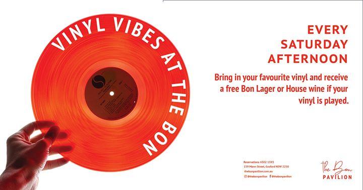 Vinyl Vibes at The Bon