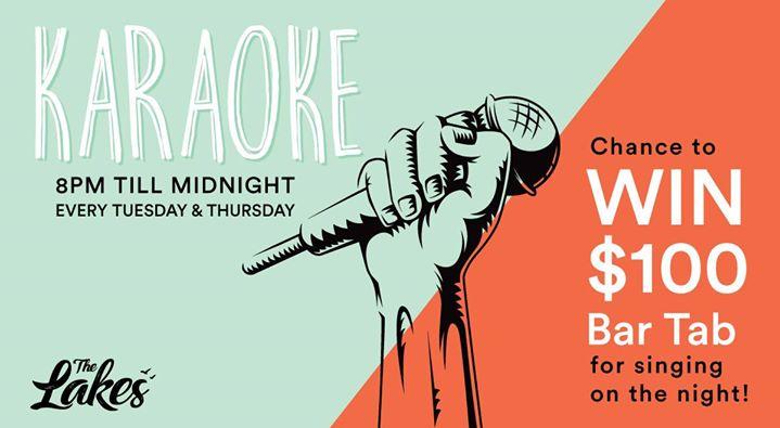 Karaoke Tuesday's & Thursday's