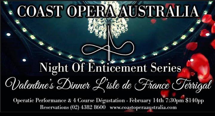 Night Of Enticement Series – Degustation Dinner