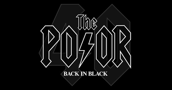 The Poor – Back In Black – Central Coast Leagues