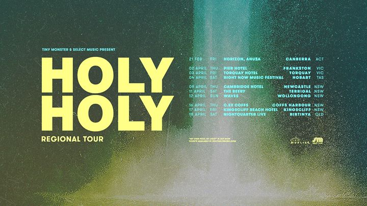 HOLY HOLY – Terrigal, NSW